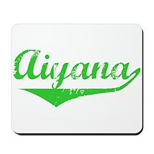 Aiyana Vintage (Green) Mousepad