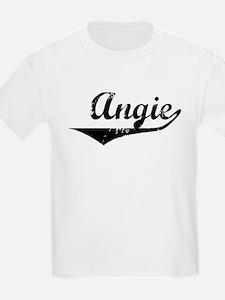 Angie Vintage (Black) T-Shirt