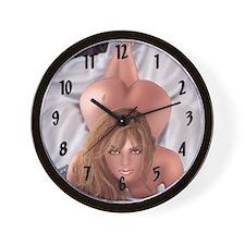 "Sexy ""Brazen"" Wall Clock"