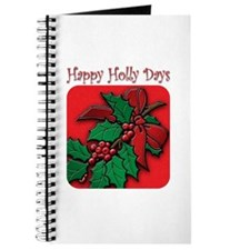 happy holly days Journal