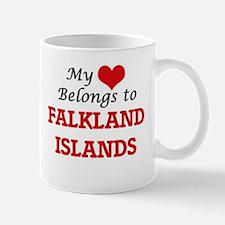 My Heart Belongs to Falkland Islands Mugs