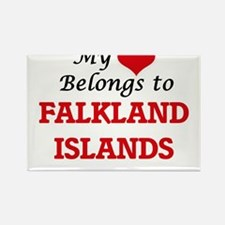 My Heart Belongs to Falkland Islands Magnets