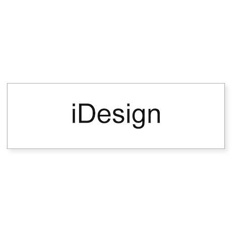 iDesign Sticker (Bumper)