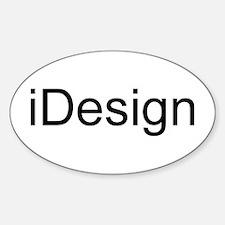 iDesign Sticker (Oval)