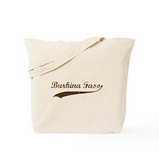 Vintage Burkina Faso Retro Tote Bag