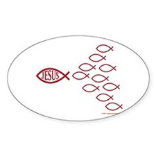 Oval Stickers