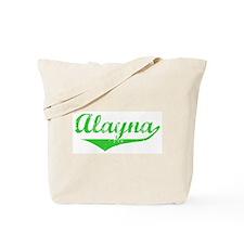 Alayna Vintage (Green) Tote Bag