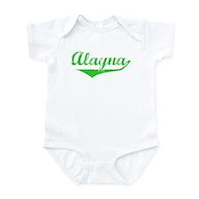 Alayna Vintage (Green) Infant Bodysuit