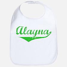 Alayna Vintage (Green) Bib