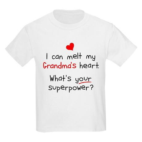 Melt Grandma's Heart Kids Light T-Shirt