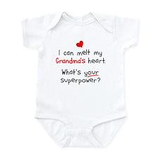Melt Grandma's Heart Infant Bodysuit
