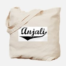 Anjali Vintage (Black) Tote Bag