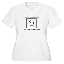 NEVER UNDERESTIMATE THE ELEME T-Shirt