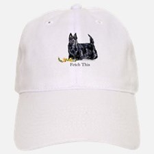 Scottish Terrier Holiday Dog Baseball Baseball Cap