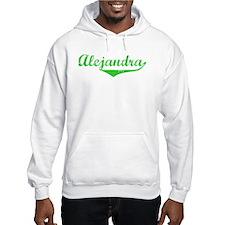 Alejandra Vintage (Green) Jumper Hoody