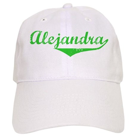 Alejandra Vintage (Green) Cap