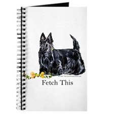 Scottish Terrier Holiday Dog Journal