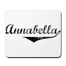 Annabella Vintage (Black) Mousepad