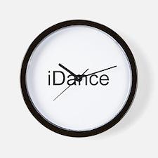 iDance Wall Clock