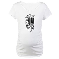 Letter W Shirt