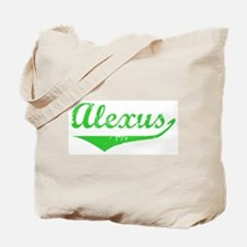 Alexus Vintage (Green) Tote Bag