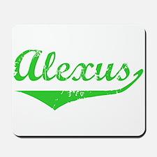 Alexus Vintage (Green) Mousepad
