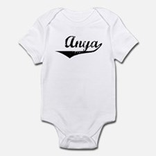 Anya Vintage (Black) Infant Bodysuit