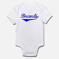Brandi Vintage (Blue) Infant Bodysuit