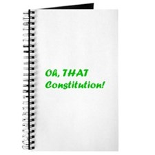 Oh, THAT Constitution! Journal