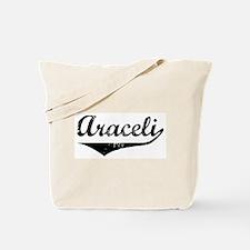 Araceli Vintage (Black) Tote Bag
