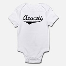 Araceli Vintage (Black) Infant Bodysuit
