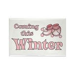 Coming this Winter Rectangle Magnet (10 pack)