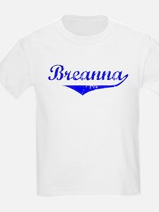 Breanna Vintage (Blue) T-Shirt