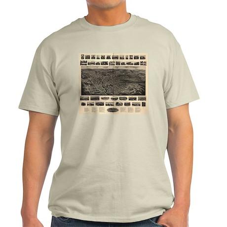 Bristol, Connecticut Light T-Shirt