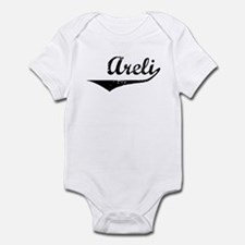 Areli Vintage (Black) Infant Bodysuit
