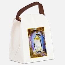 Penguin! Wildlife art! Canvas Lunch Bag