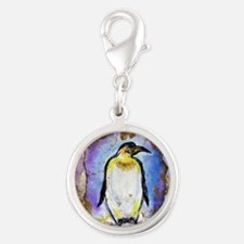 Penguin! Wildlife art! Charms