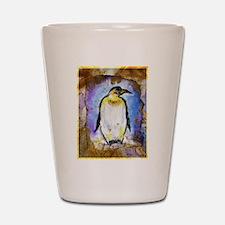 Penguin! Wildlife art! Shot Glass