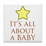 about a baby Tile Coaster