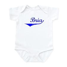 Bria Vintage (Blue) Infant Bodysuit
