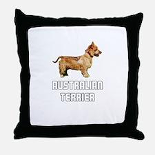 Australian Terrier Throw Pillow