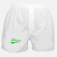 Aliya Vintage (Green) Boxer Shorts