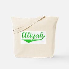 Aliyah Vintage (Green) Tote Bag