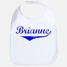 Brianne Vintage (Blue) Bib