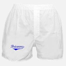 Brianne Vintage (Blue) Boxer Shorts