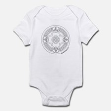 Cute Celtic letter Infant Bodysuit