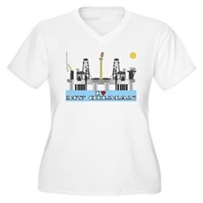 I Love MY Oilman T-Shirt