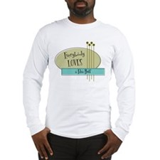 Everybody Loves a Film Buff Long Sleeve T-Shirt