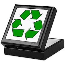 Recycling Symbol Keepsake Box