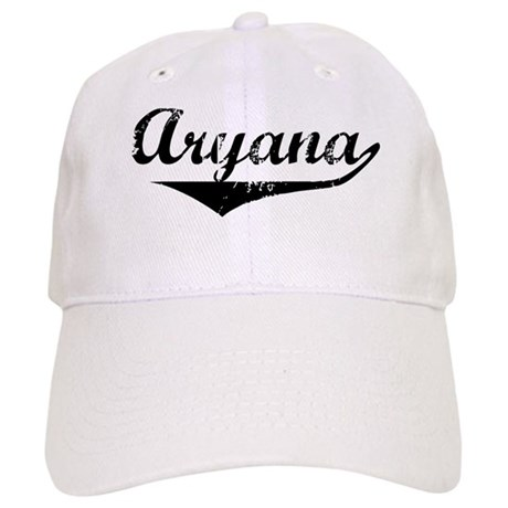 Aryana Vintage (Black) Cap
